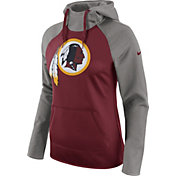 Nike Women's Washington Redskins Tailgate All-Time Grey Hoodie