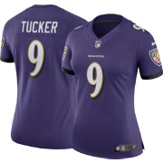 Nike Women's Home Limited Jersey Baltimore Ravens Justin Tucker #9