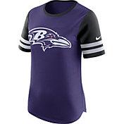 Nike Women's Baltimore Ravens Modern Fan Purple Short-Sleeve Top
