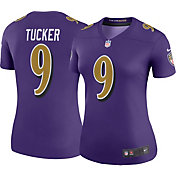 Nike Women's Color Rush 2017 Legend Jersey Baltimore Ravens Justin Tucker #9