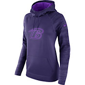 Nike Women's Baltimore Ravens Therma-FIT Purple Performance Hoodie