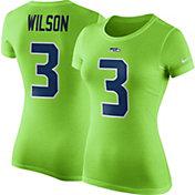 Nike Women's Seattle Seahawks Russell Wilson #3 Pride T-Shirt