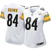 Nike Women's Away Game Jersey Pittsburgh Steelers Antonio Brown #84