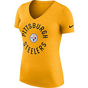 Nike Women's Pittsburgh Steelers Dri-FIT Touch Gold Performance T-Shirt