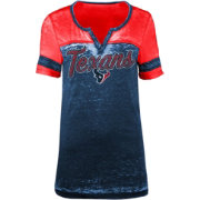 New Era Women's Houston Texans Burnout Navy T-Shirt