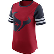 Nike Women's Houston Texans Modern Fan Red Short-Sleeve Top