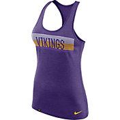 Nike Women's Minnesota Vikings Dri-FIT Touch Performance Purple Tank Top
