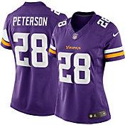Nike Women's Home Limited Jersey Minnesota Vikings Adrian Peterson #28