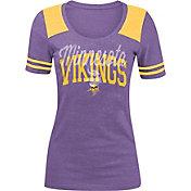 5th & Ocean Women's Minnesota Vikings Purple Tri-Blend T-Shirt