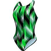 Nike Women's Beam Power Back Tank Swimsuit