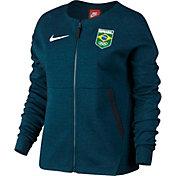 Nike Women's Team Brazil Tech Fleece Full Zip Jacket
