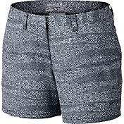 Nike Women's Printed Golf Shorts