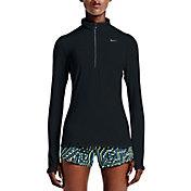 Nike Women's Element Half Zip Running Shirt