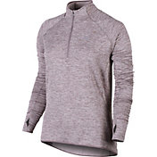 Nike Women's Element Sphere Half Zip Long Sleeve Running Shirt