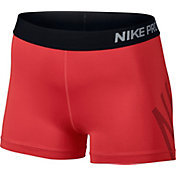 Nike Women's 3'' Pro Cool Logo Graphic Shorts