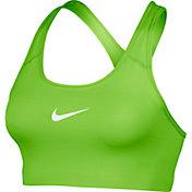 Nike Women's Pro Classic Swoosh Compression Graphic Sports Bra