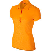 Nike Women's Dri-FIT Precision Emboss Golf Polo