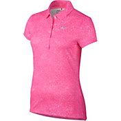 Nike Women's Precision Print Golf Polo