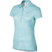 Nike Women's Precision Print Golf Polo