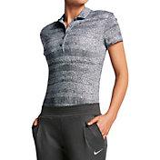 Nike Women's Precision Zebra Print Golf Polo