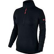 Nike Women's Pro Hyperwarm Long Sleeve Half Zip Shirt