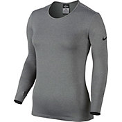 Nike Women's Pro Hyperwarm Fitted Crew 3.0 Long Sleeve Compression Shirt