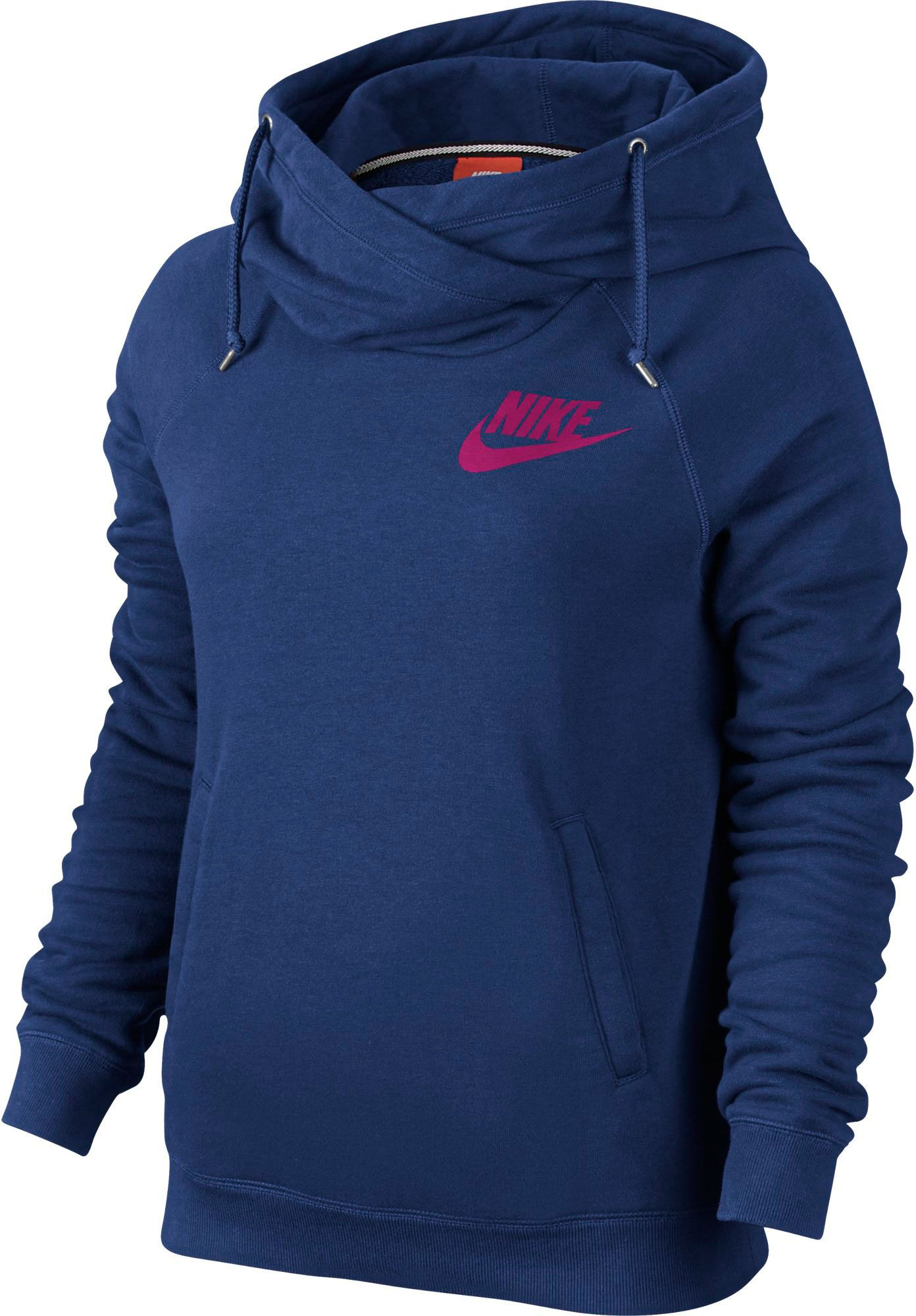 Nike Women's Rally Funnel Neck Hoodie| DICK'S Sporting Goods