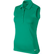Nike Women's Victory Sleeveless Golf Polo