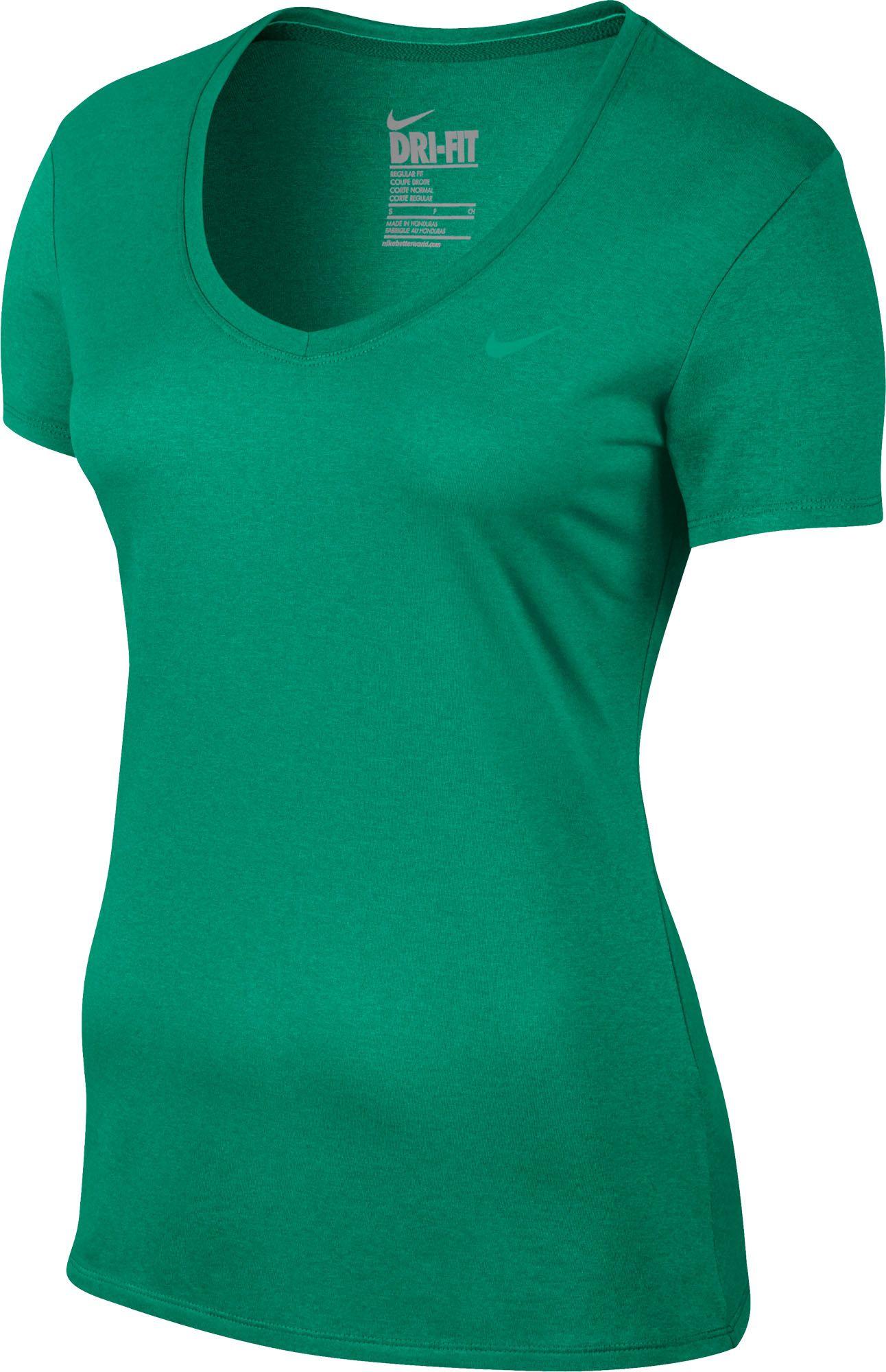Nike Women's Legend V-Neck 2.0 Short Sleeve Shirt | DICK'S ...