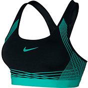 Nike Women's Pro Hyper Classic Medium Support Padded Sports Bra