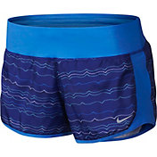 Nike Women's Peak Crew Printed Running Shorts