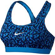 Nike Women's Pro Classic Facet Printed Sports Bra