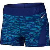 Nike Women's 3'' Pro Hypercool Reflect Printed Compression Shorts