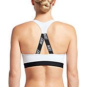 Nike Women's Pro Classic Strappy Logo Padded Sports Bra