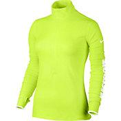 Nike Women's Pro Warm JDI Half Zip Long Sleeve Shirt
