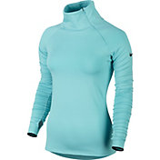 Nike Women's Pro Warm Long Sleeve Zip Shirt