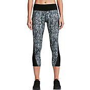 Nike Women's Power Printed Running Capris