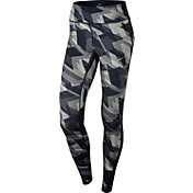 Nike Women's Power Racer Geo Groove Printed Running Tights