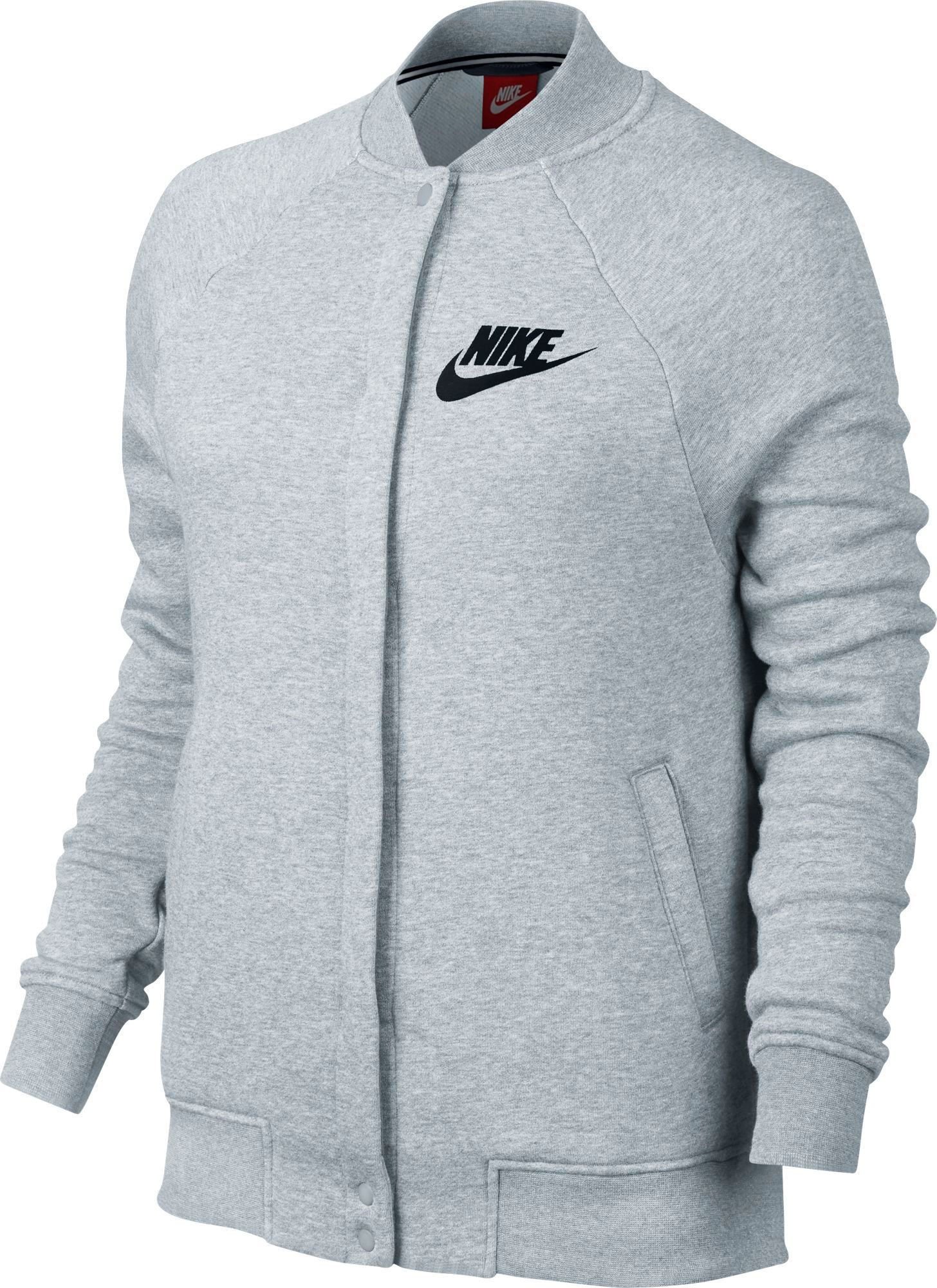 Nike Women's Sportswear Rally Varsity Fleece Jacket | DICK'S ...