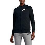 Nike Women's Sportswear Rally Varsity Fleece Jacket