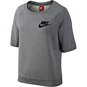 Nike Women's Rally Crew Short Sleeve Sweatshirt