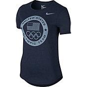 Nike Women's Dri-Blend Team USA USOC Graphic T-Shirt