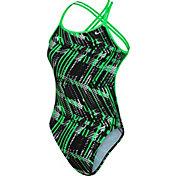 Nike Women's Shark Spider Back Swimsuit