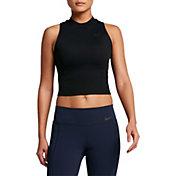 Nike Women's Solid Crop Tank Top