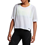 Nike Women's Breathe Mesh T-Shirt