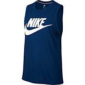 Nike Women's Sportswear Essential Graphic Muscle Tank Top