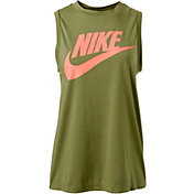 Nike Women's Sportswear Essential Graphic Muscle Tank Top