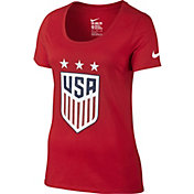 Nike Women's Team USA Crest Graphic T-Shirt