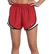 prix particulier Rouge Nike Shorts Femmes meilleures affaires EYjEU