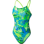 Nike Women's Tropic Cut Out Swimsuit